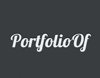 PortfolioOf - Mobile App