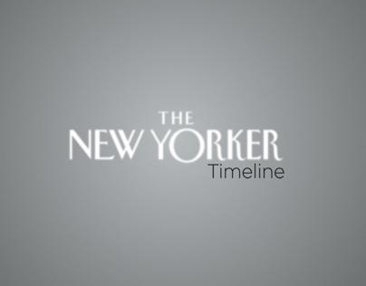 The New Yorker Magazine Timeline (motion)