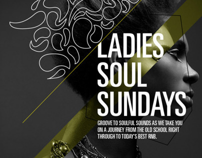 Soul Sundays at Left Bank / Music Poster