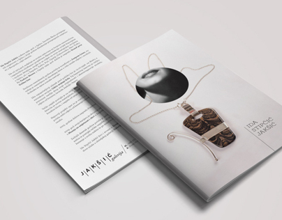 Jewelry exhibition brochure