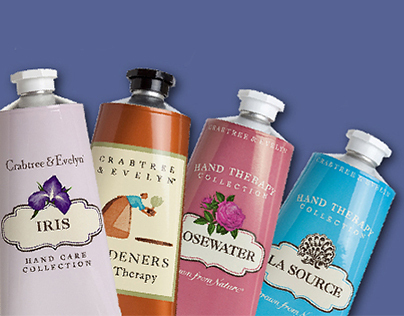 Crabtree & Evelyn website sale banners