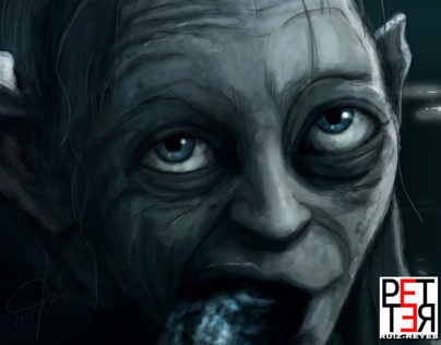The Gollum - Digital paint