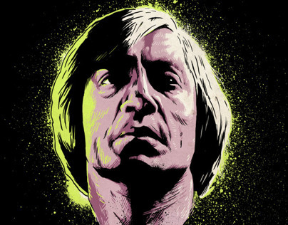 "No Country For Old Men ""Neon Death"" Poster"