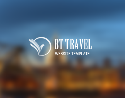 BT Travel - Responsive Travel Website