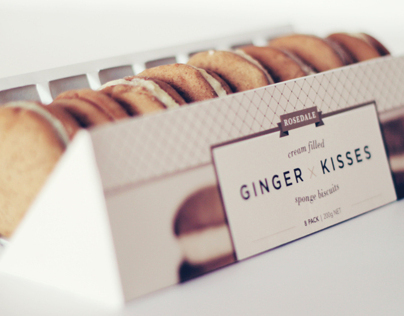 Ginger Kisses Packaging Re-design