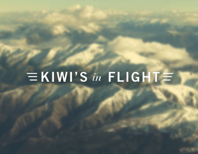 Kiwis In Flight Memorial Stamp Design