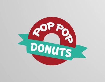 POP POP DONUTS / BRANDING