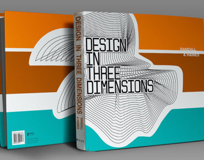 DESIGN IN THREE DIMENSIONS / BOOK COVER