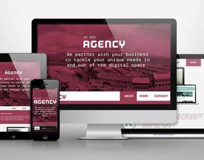AGENCY / RESPONSIVE WEB DESIGN