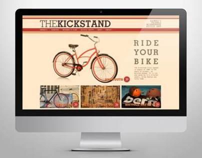 THE KICKSTAND / WEB DESIGN