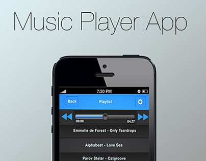 Music Player App Project