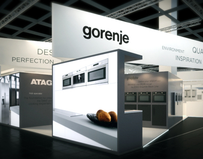 3D visualization gorenje IMM LivingKitchen 2011