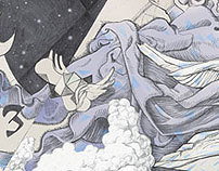 Tatiana Tolstaya`s novel Archangel illustrations
