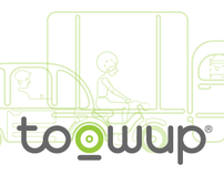 Toowup Promotional Identity.