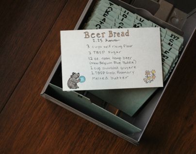 Handmade Ingredient Cards