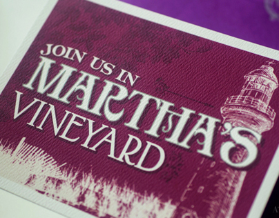 Marthas Vineyard Fairytale Wedding Invitation