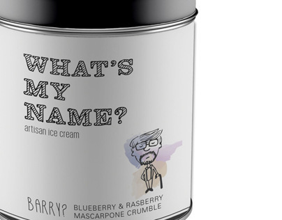 WHATS MY NAME? - Ice Cream Packaging