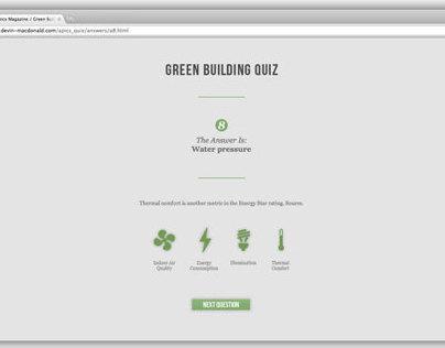 APICS Green Building Quiz