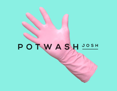 Pot Wash Josh Brand Identity ©