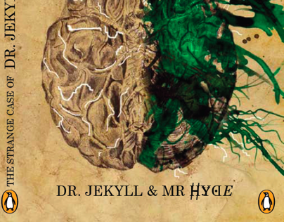 Book Cover Design - Dr Jekyll & Mr Hyde