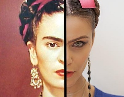 Modern Frida for female emancipation
