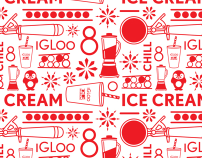 Igloo 8 Ice Cream Branding