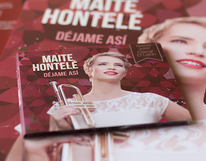 Diseño CD Label Maite Hontelé