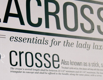 Womens Lacrosse Infographic
