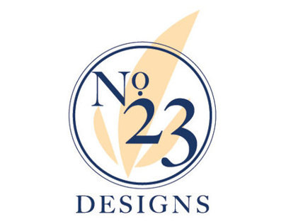 """No. 23 Designs"" Logo"