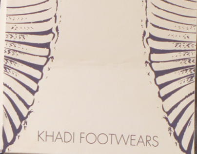 Packaging Khadi Footwears