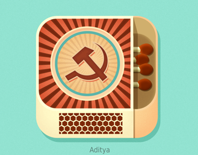 Matchbox ios flat app icon