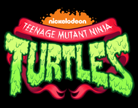 Teenage Mutant Ninja Turtles logo design