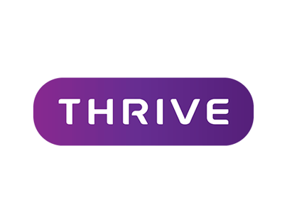 Thrive Recruitment Logo Design