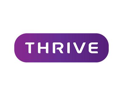 Thrive Recruitment Logo Design