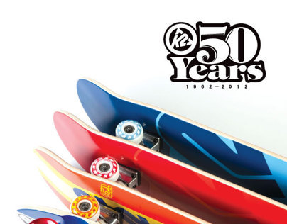 K2 50th Anniversary Skateboards
