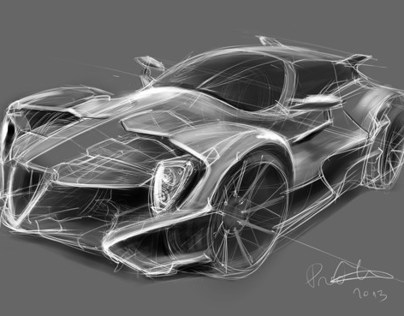 Car Concept Sketches