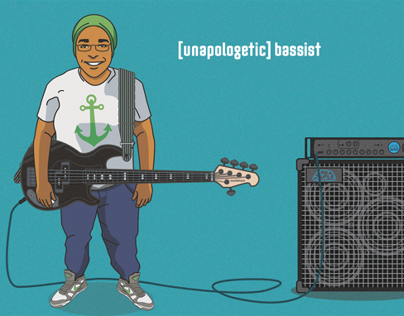 [unapologetic] bassist