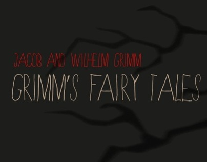 Grimm's Fairy Tale Book Cover