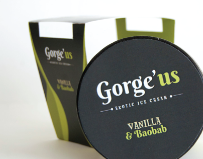 Gorge'us Ice cream brand
