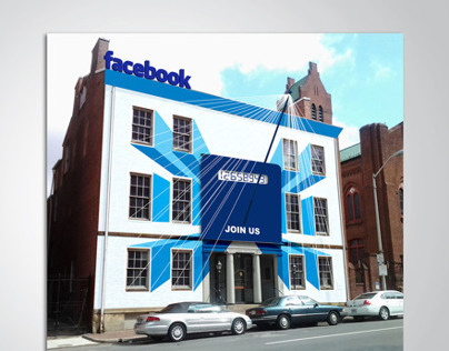 Exterior & Interior Signage for Facebook Office / 2012