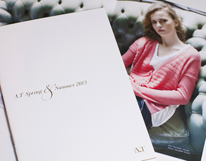 A.T Spring & Summer 2013 / Catalogue