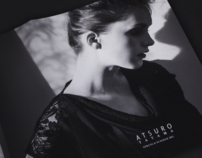 ATSURO TAYAMA SPRING & SUMMER 2013 / Catalogue