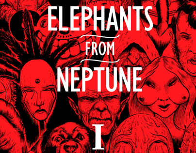 Elephants From Neptune digital EP I cover