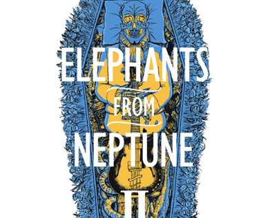 Elephants From Neptune shirt design and EP II cover