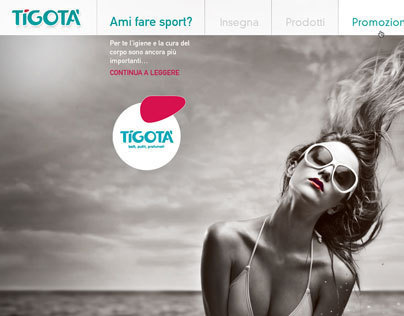 Tigotà Web Design