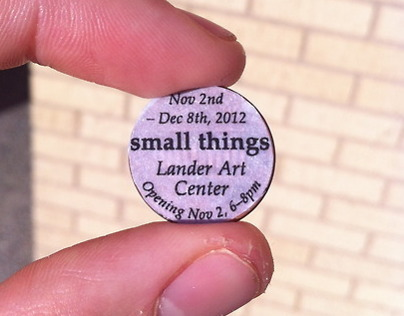 Lucky Penny - Small Things Art Show promotion