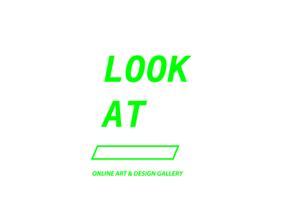 LOOK AT online art&design gallery(web design homework)