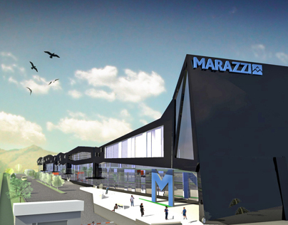 Marazzi group exibitional and administrative center