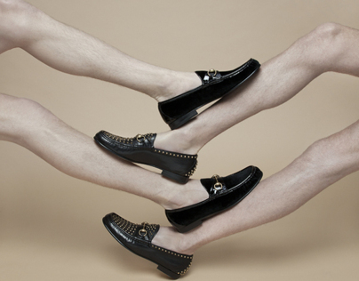 Gucci loafers for the The ROOM Magazine