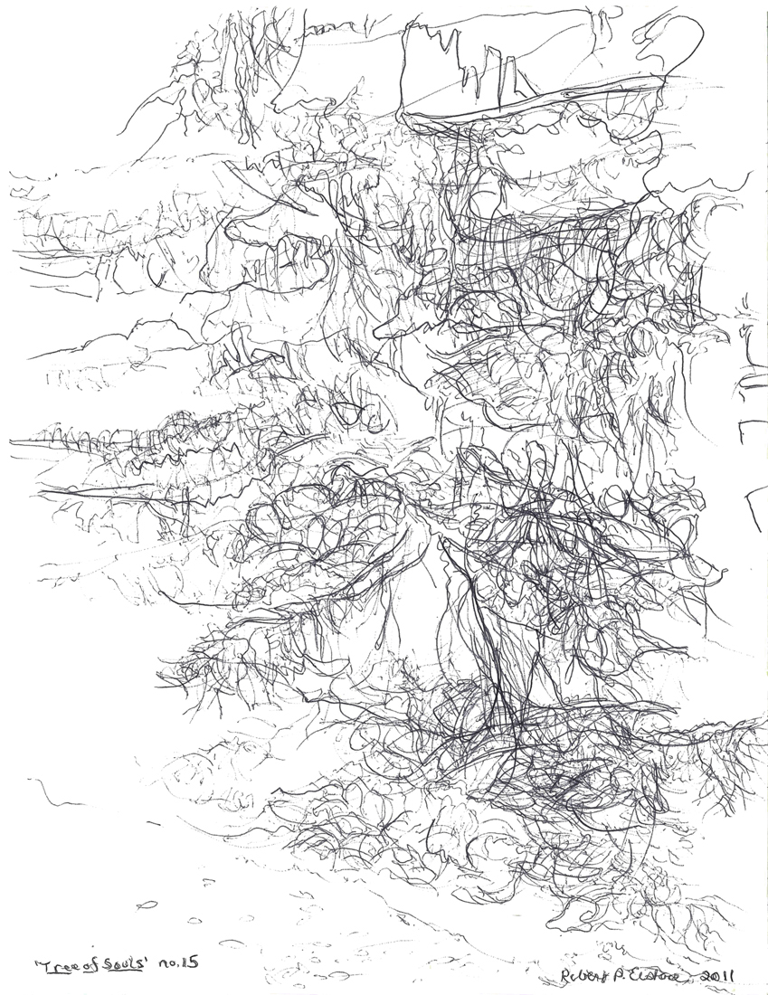TREE OF SOULS : 2011 : Selected Drawings from Suite